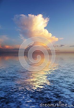Beautyful mystery cloudscape