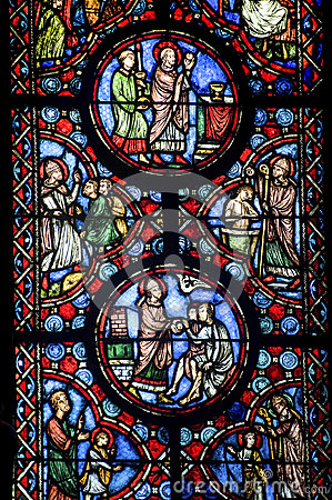 Free Beauvais (Picardie) - Cathedral, Stained Glass Stock Photos - 27388233
