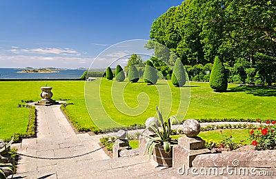 Beaux jardins de château
