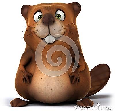 Free Beaver Stock Image - 34948021
