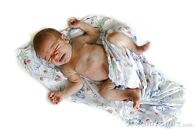 Bebê idoso de 2 semanas