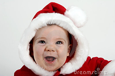 Bebé de Santa