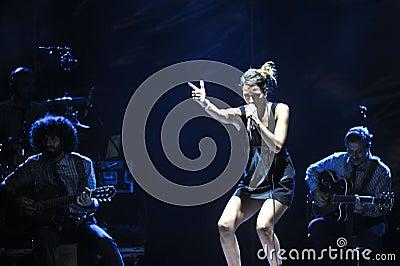 Bebe in concert Editorial Image