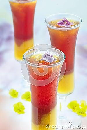 Bebida de la mezcla de la fruta