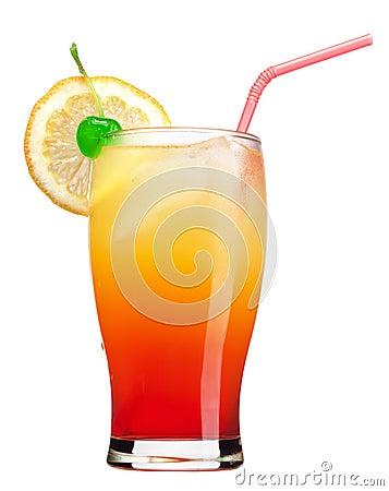 Bebida do nascer do sol do Tequila