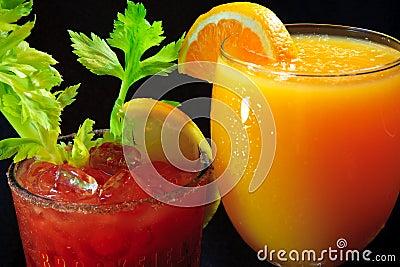 Bebidas para a refeição matinal