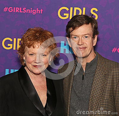 Becky Ann Baker and Dylan Baker Editorial Photo
