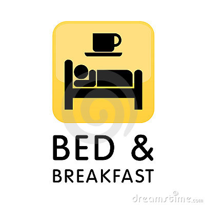 Free Bed And Breakfast Icon Logo Royalty Free Stock Photos - 9876588