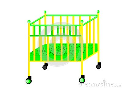 Bed for the baby