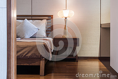 Bed and bedroom