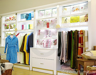 Bed linen store