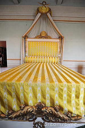 Bed of Napoleon at Portoferraio, Elba island