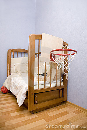 Free Bed Of Youth Basketball-player Royalty Free Stock Images - 4441039