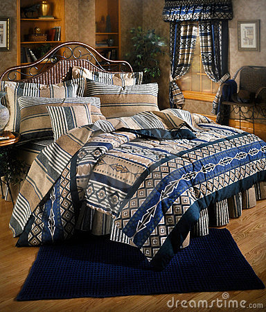 Bed room set with bedding