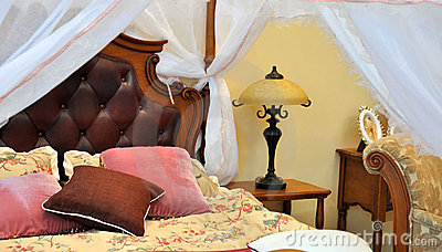 Bedding and furniture interior