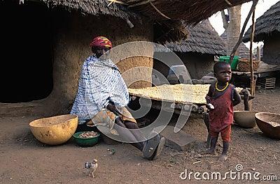 BEDIKS - Senegal Editorial Image