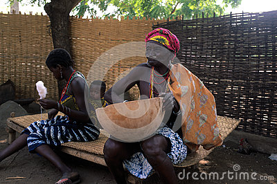 Bediks - Senegal Editorial Stock Photo