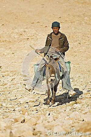 Bedouin child Editorial Photo