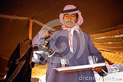 Bedouin hospitality Editorial Stock Photo