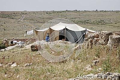Bedouin house, Syria