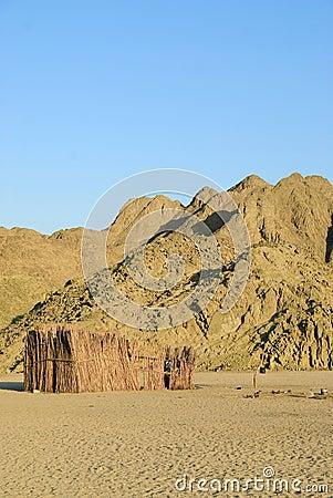 Bedouin hut