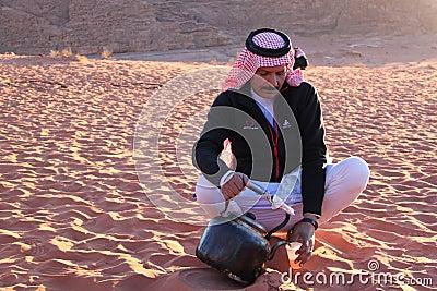 Bedouin-Jordan Editorial Stock Photo