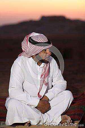 Bedouin man Editorial Stock Image