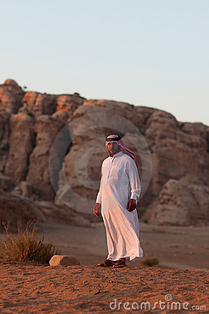 Bedouin man Editorial Photography