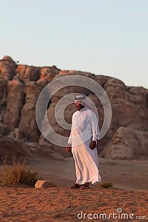 Bedouin man Editorial Photography