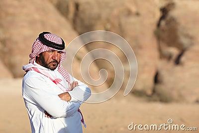 Bedouin man Editorial Photo