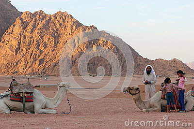 Bedouin nomads Editorial Photography