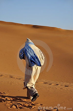 Bedouin in the Sahara desert