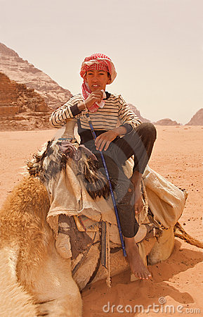 Bedouin Teenager Editorial Photography