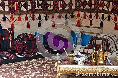 bedouin tent stock image image 14655871