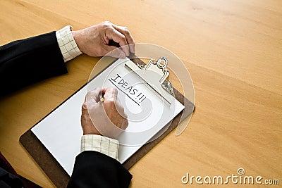Bedrijfs brainstorming