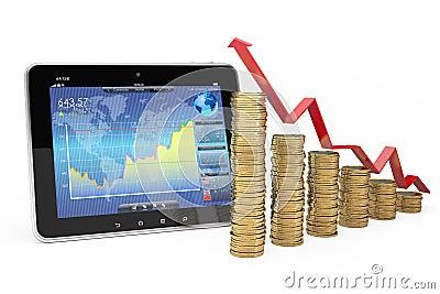Bedrijfs en financiënconcept