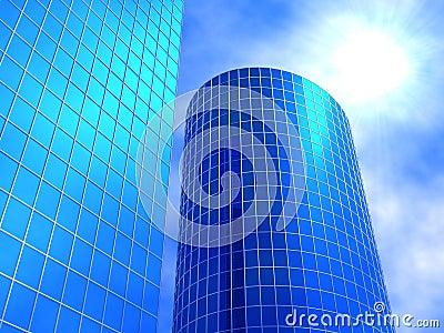 Bedrijfs gebouwen
