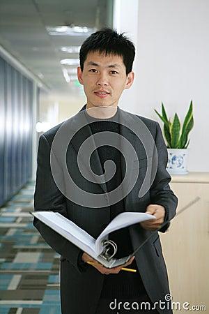 Bedrijfs mens