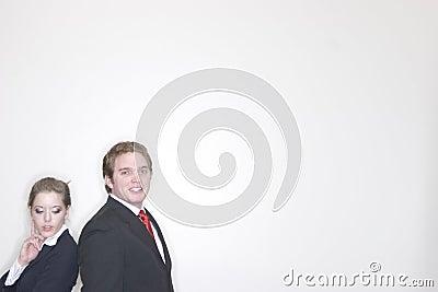 Bedrijfs Paar