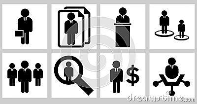 Bedrijfs pictogrammen 01