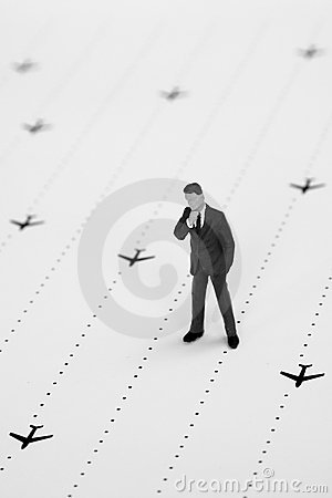 Bedrijfs reis