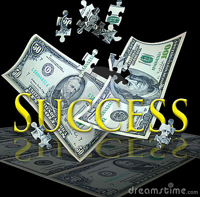 Bedrijfs succes