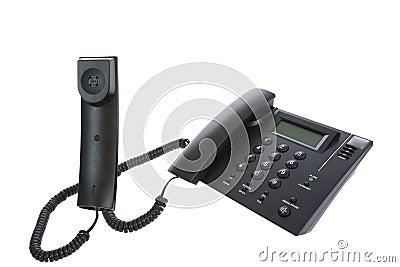 Bedrijfstelefoon dichte omhooggaand