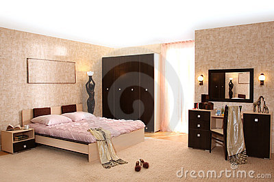 Bedroom Royalty Free Stock Images - Image: 14352079