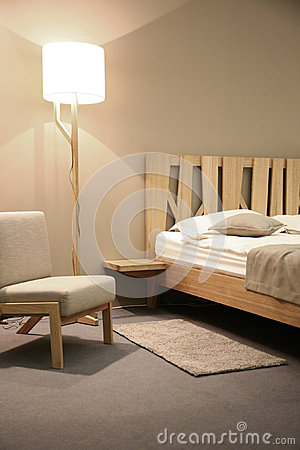 Free Bedroom Royalty Free Stock Image - 36916176