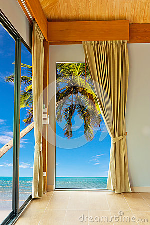 Bedroom at beach
