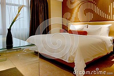 Bedroom of hotel