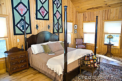 Bedroom Interior/Window Shades