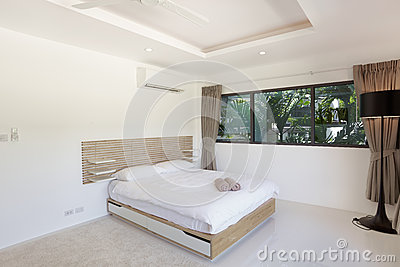 Bedroom in modern style d