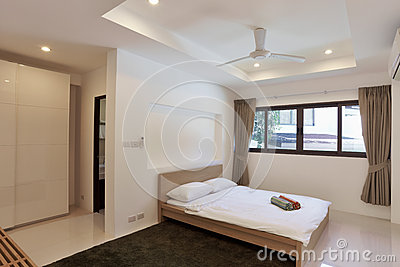 Bedroom in modern style g